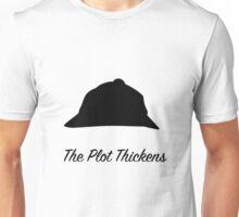 "Sherlock Holmes ""The Plot Thickens"" Unisex T-Shirt"