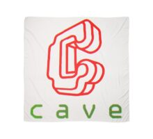 Cave Logo (CRT) Scarf