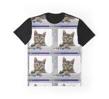 Cat Paint 95 Graphic T-Shirt