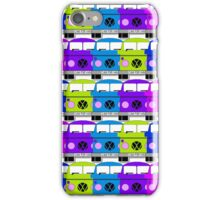 Campervan Multi Abstract No.2 iPhone Case/Skin
