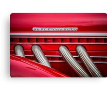 Red Super-Charged Canvas Print