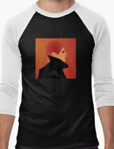 Jerome Newton —David Bowie, Low, Man Who Fell to Earth Men's Baseball ¾ T-Shirt