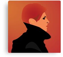 Jerome Newton —David Bowie, Low, Man Who Fell to Earth Canvas Print