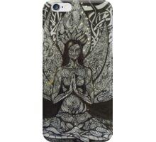 Sukhasana - easy pose iPhone Case/Skin