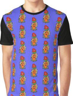 Carrot Fireman Graphic T-Shirt