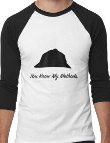 "Sherlock Holmes ""You Know My Methods"" Men's Baseball ¾ T-Shirt"