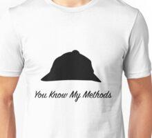 "Sherlock Holmes ""You Know My Methods"" Unisex T-Shirt"