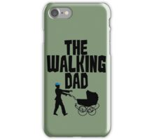 Walking Dad Funny Zombie iPhone Case/Skin