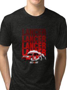 LANCER EVO VI - Tommi Makinen Tri-blend T-Shirt