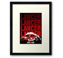LANCER EVO VI - Tommi Makinen Framed Print