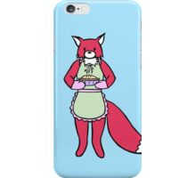 Little Red Fox does baking iPhone Case/Skin