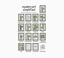 modern art simplified Unisex T-Shirt