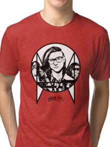Skrillex  Tri-blend T-Shirt