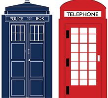 Dr. Who Phone Booth by SarGraphics