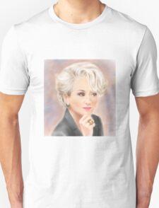 Meryl Streep The Devil Wears Prada Unisex T-Shirt