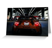 Scion fr-s wide body vortech Greeting Card