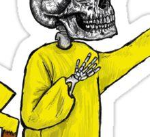 Skull Pikachu Sticker