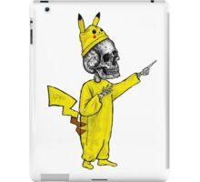 Skull Pikachu iPad Case/Skin