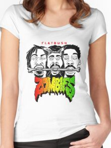 flatbush zombies 6 Women's Fitted Scoop T-Shirt