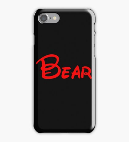 silly old bear iPhone Case/Skin