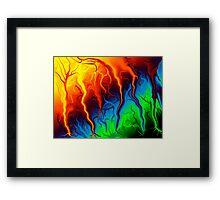 Forces of Nature... Framed Print