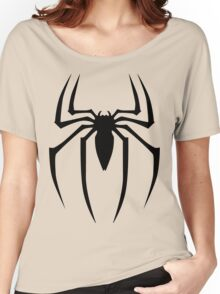 Spiderman Logo Women's Relaxed Fit T-Shirt