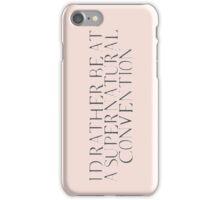 Supernatural Convention iPhone Case/Skin