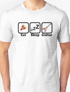 Eat Sleep Guitar Unisex T-Shirt