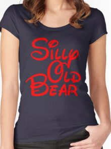 silly old bear 2 Women's Fitted Scoop T-Shirt