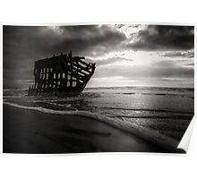 Shipwrecked Peter Iredale Poster