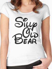 silly old bear 3 Women's Fitted Scoop T-Shirt