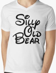 silly old bear 3 Mens V-Neck T-Shirt