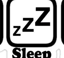 Eat Sleep Drum Sticker