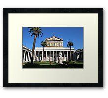 Papal Basilica of St. Paul Framed Print