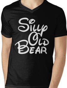 silly old bear 4 Mens V-Neck T-Shirt