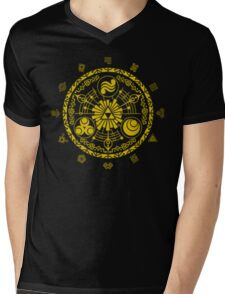 Legend of Zelda Gate of Time Mens V-Neck T-Shirt