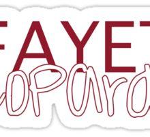 Lafayette College Sticker