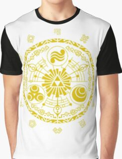 Legend of Zelda Gate of Time Graphic T-Shirt