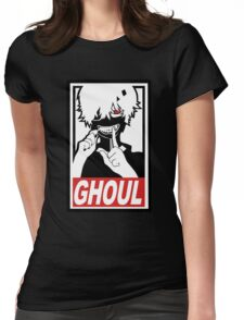 Kaneki - Tokyo Ghoul  Womens Fitted T-Shirt