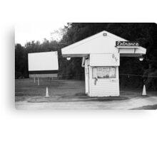 Auburn, NY - Drive-In Theater Canvas Print