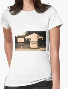 Auburn, NY - Drive-In Theater Womens Fitted T-Shirt