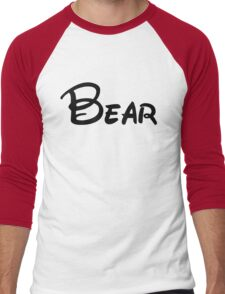 bear Men's Baseball ¾ T-Shirt