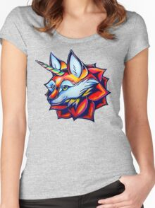 Foxicorn Women's Fitted Scoop T-Shirt