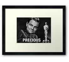 Leonardo reacting to Oscar Framed Print