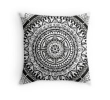 Zentangle Mandala-Bible Verse Throw Pillow
