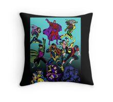 X-Men Blue Team Throw Pillow
