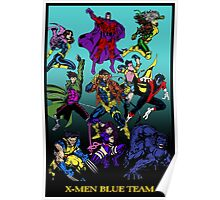 X-Men Blue Team Poster