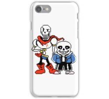 Undertale - Sans and Papyrus iPhone Case/Skin