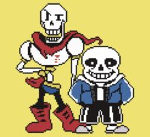 Undertale - Sans and Papyrus Baby Tee