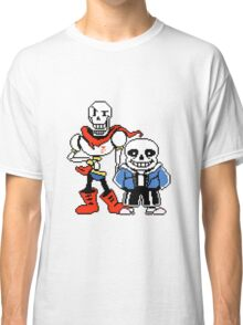 Undertale - Sans and Papyrus Classic T-Shirt